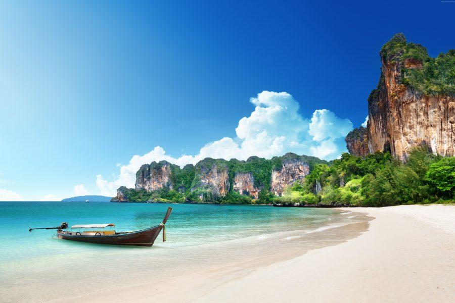 KRABI Thailand Sea Boats 449559 1